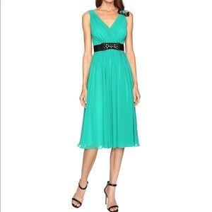 Kate Spade Emerald Green Embellished Dress 4